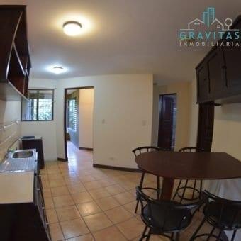 Apartamento de 2 Habitaciones en Residencial Privado Tres Ríos