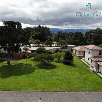 Terreno Esquinero 2302 m2 |Santo Domingo de Heredia | Residencial privado