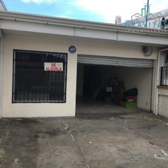 Local de 60 m2 | Tibas | Carretera principal