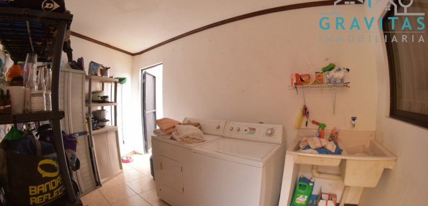 Casa en Alta Moravia 285m2 | 3 hab | Residencial con seguridad 24/7