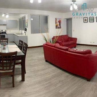 Apartamento amueblado en Escazú ID -702