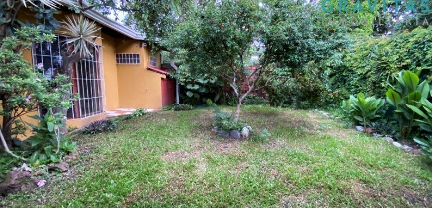 Casa en Escazú 2 Habitaciones ID-727