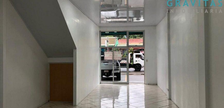 Local comercial 65m2 en centro de Aguas Zarcas LV-119